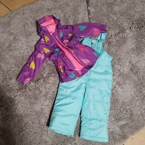 Bundle of 2 Girls Snow clothes